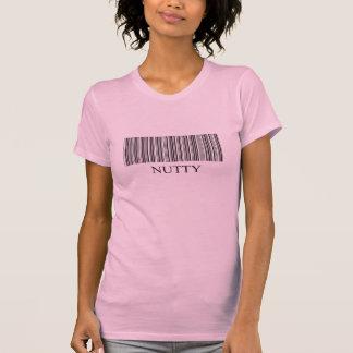 La camiseta de la mujer del código de barras