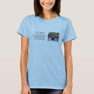 La camiseta de la mujer del premio Emmy