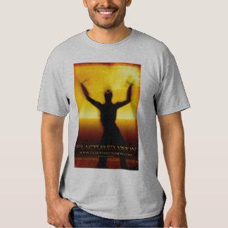 La camiseta de la mujer fracturada de Vision Playeras
