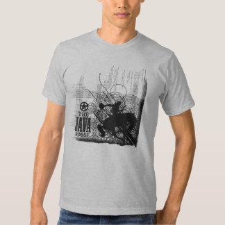 La camiseta de la pandilla de Java Poleras
