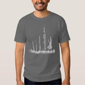 La camiseta de la raza del espacio playeras