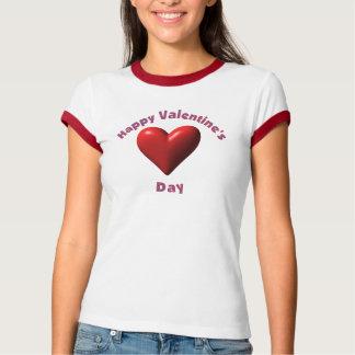 La camiseta de la tarjeta del día de San Valentín Playera