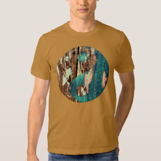 La camiseta de la textura de los hombres de madera camisas