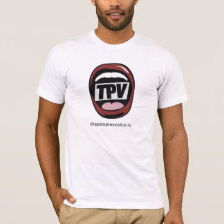 La camiseta de la voz TV American Apparel de la
