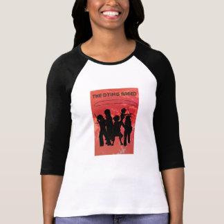 La camiseta de la vuelta del 70s de las mujeres de