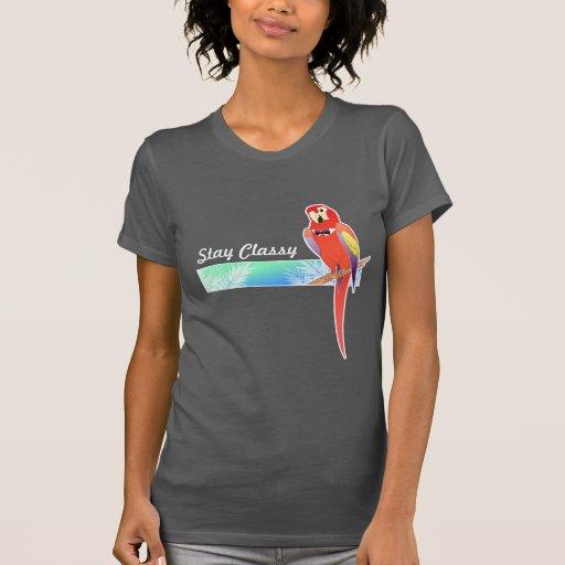 La camiseta de Ladie con clase del loro