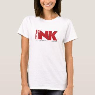 La camiseta de Ladie de radio de la tinta
