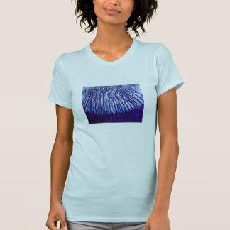 La camiseta de las mujeres - bosque de Stardust