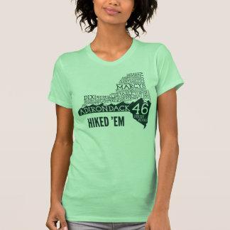 La camiseta de las mujeres caminadas ADK46 Polera