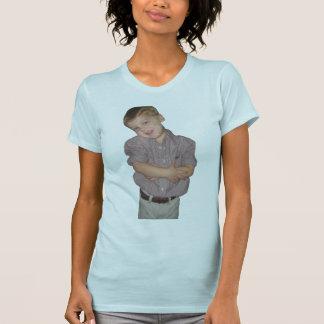La camiseta de las mujeres con imagen de encargo playeras
