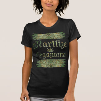 La camiseta de las mujeres cristalinas del brote camisas