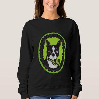 La camiseta de las mujeres de Boston Terrier Remera