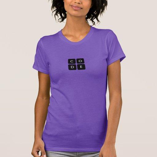 la camiseta de las mujeres de Code.org