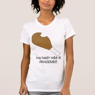 La camiseta de las mujeres de Dewicious Weg