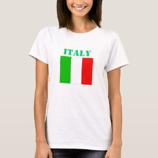La camiseta de las mujeres de Italia