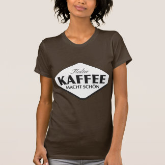 La camiseta de las mujeres de Kalter Kaffee Macht Remeras