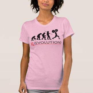 La camiseta de las mujeres de la carta de la