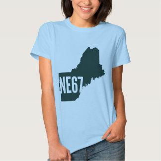 La camiseta de las mujeres de la lista de Nueva Polera