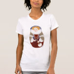 La camiseta de las mujeres de la reina Elizabeth M