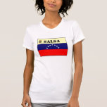 La camiseta de las mujeres de la salsa