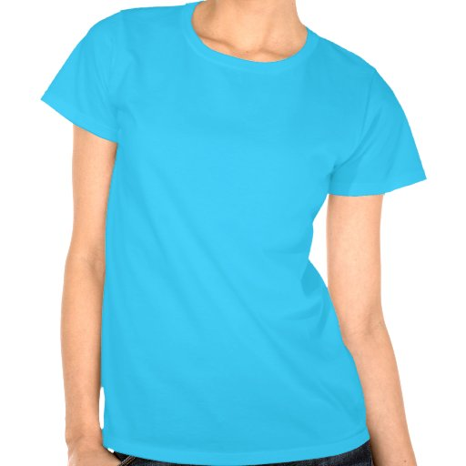 La camiseta de las mujeres de las espinillas