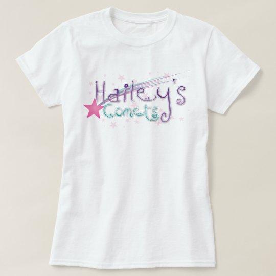 la camiseta de las mujeres de los cometas de los