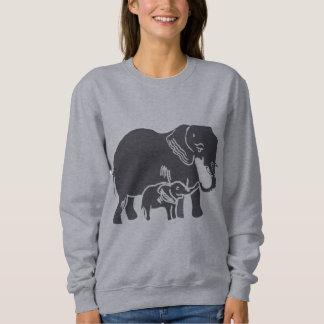 La camiseta de las mujeres de los elefantes