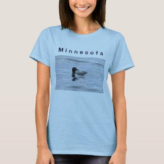 La camiseta de las mujeres de Minnesota