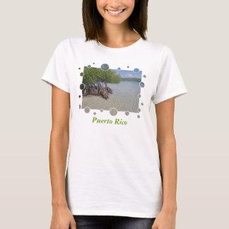 La camiseta de las mujeres de Puerto Rico