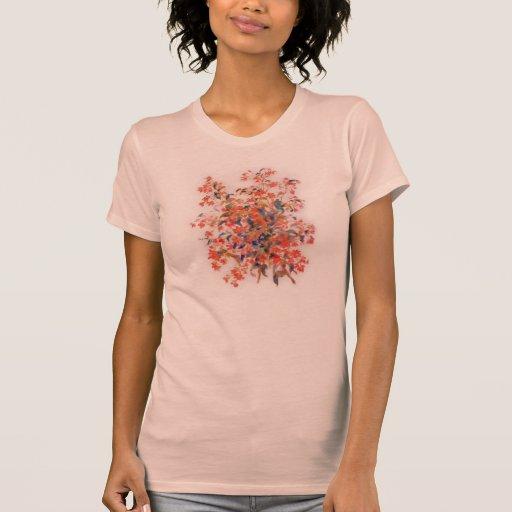 La camiseta de las mujeres de Renoir Fuscias
