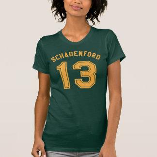 La camiseta de las mujeres de Schadenford Don