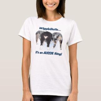 La camiseta de las mujeres de Wigglebutts