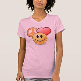 La camiseta de las mujeres del amor y de la remeras