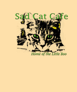 """La camiseta de las mujeres """"del café triste del ga"""