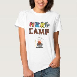 La camiseta de las mujeres del campo del empollón remera