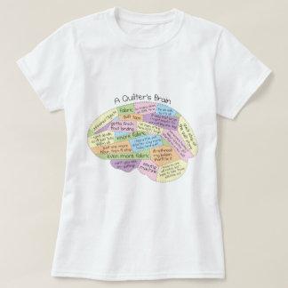 La camiseta de las mujeres del cerebro de un remeras