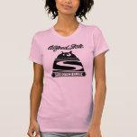 La camiseta de las mujeres del club de la robótica