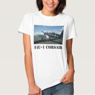 La camiseta de las mujeres del corsario F4U-1 Remeras