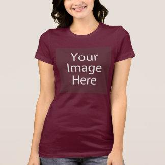 La camiseta de las mujeres del cuello barco de Bel