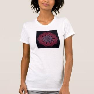 La camiseta de las mujeres del fractal (verano Blo Playera