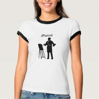 la camiseta de las mujeres del iPaint Camisas