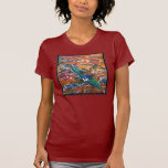 La camiseta de las mujeres del kajak - modificada