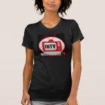 La camiseta de las mujeres del logotipo de IHTV