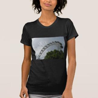 La camiseta de las mujeres del ojo de Londres