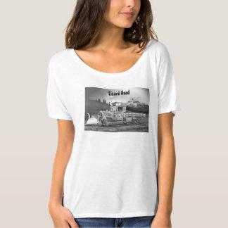 La camiseta de las mujeres del paso de la cabeza remera