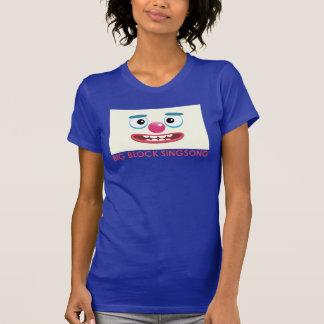 La camiseta de las mujeres del payaso de BBSS Poleras