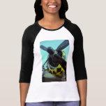 La camiseta de las mujeres del rayo P-47