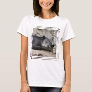 La camiseta de las mujeres del Tapir de Baird