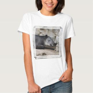 La camiseta de las mujeres del Tapir de Baird Polera
