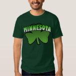 La camiseta de las mujeres del trébol de Minnesota Remeras